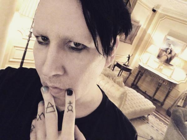 Marilyn Manson, sursa instagram