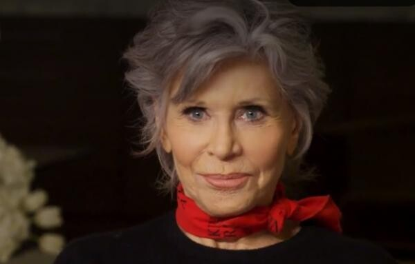 Jane Fonda, Captură Foto Youtube