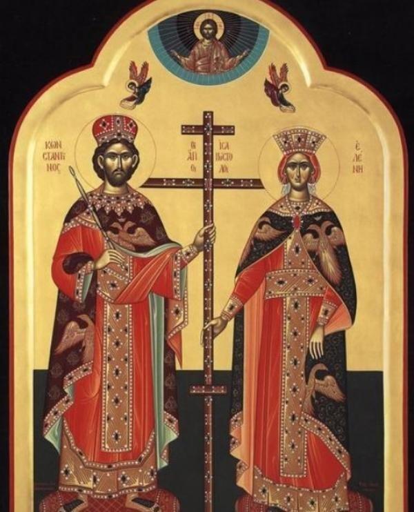 Sfinții Constantin și Elena, sursa foto doxologia.ro