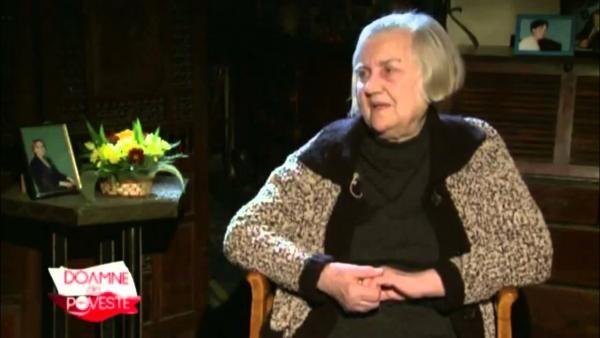 Ileana Vulpescu, captură foto TV