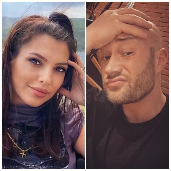 Mihai Bnedeac și Celia, colaj foto/ sursa instagram