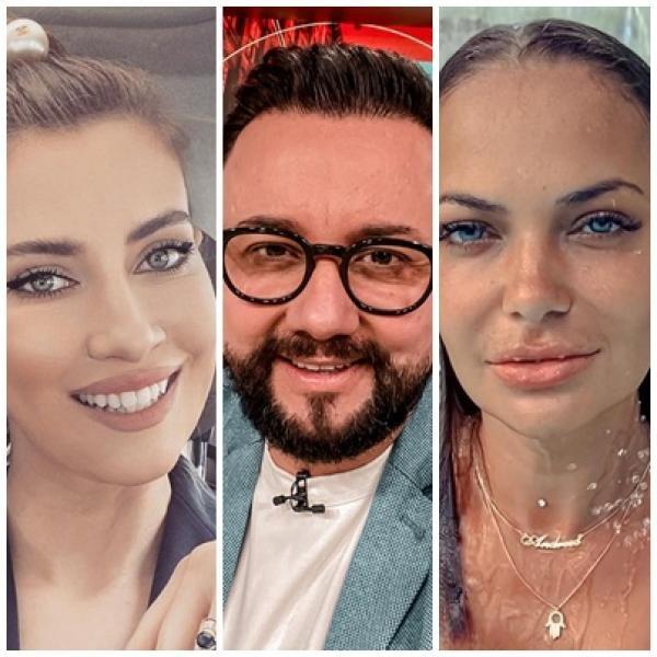 Iulia Albu, Cătălin Măruță, Andreea Antonescu, colaj foto, sursa instagram