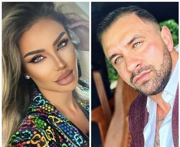 Bianca Drăgușanu și Alex Bodi, sursa instagram / colaj foto
