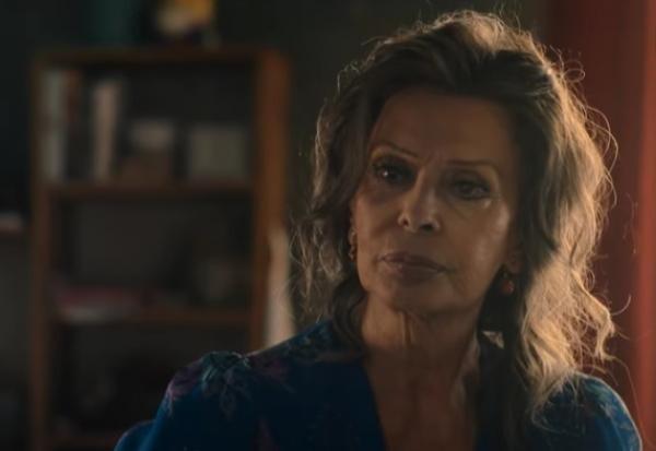 Sophia Loren, captura foto Youtube/ sursa Netflix