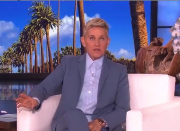 Ellen DeGeneres, captură video instagram