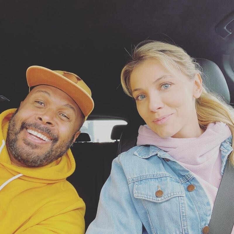 Cabral și Andreea Ibacka, sursa instagram