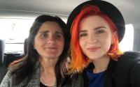 Cristina Ciobanasu și mama ei, sursa foto Instagram