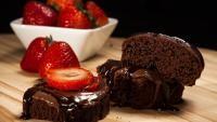 Prăjitură de ciocolată cu migdale, sursa pixabay/ autor Kevin Petit