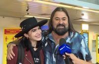 Gheorghe Gheorghiu și fiica sa, captura foto ProTV