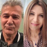 Dan Bittman și Liliana Ștefan, Colaj foto/ sursa Instagram