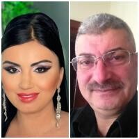 Adriana Bahmuțeanu și Silviu Prigoană, sursa instagram/ colaj foto