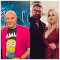Dan Capatos și Ioniță de la Clejani, sursa instagram/ colaj foto
