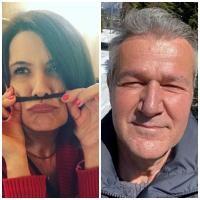 Liliana Ștefan și Dan Bittman, sursa instagram/ colaj foto