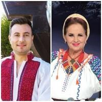 Valentin Sanfira și Margareta Clipa, sursa instagram/ colaj foto