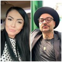 Andreea mantea și Crisitan Mitrea, sursa instagram/ colaj foto