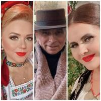 Niculina Stoican, Grigore Leșe, Cornelia Rednic, sursa instagram/ colaj foto