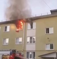 Incendiu, captura foto The Sun
