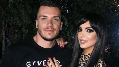 Andreea Tonciu și soțul ei, sursa Instagram