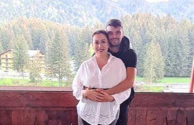 Oana Roman și Marius Elisei, foto Instagram
