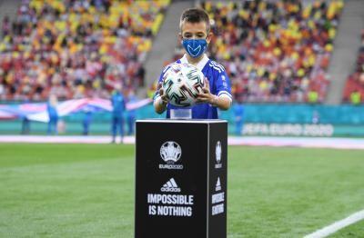 Eric Nicolae Lixandru, la meciul Austria-Macedonia