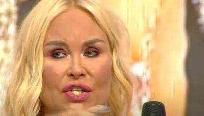 Vica Blochina, captura foto Youtube/ sursa Teo Show