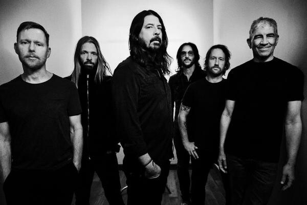 Foo Fighters, foto Instagram