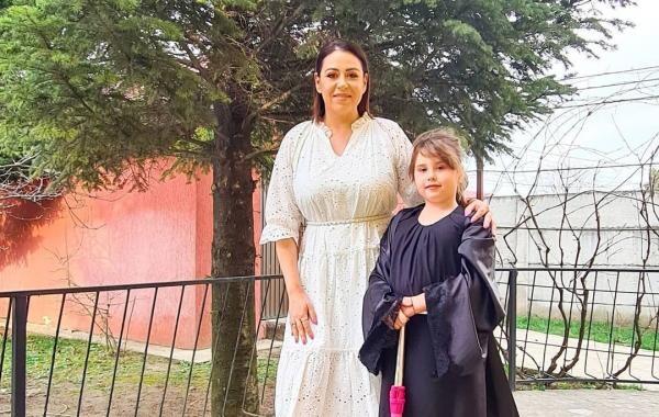 Oana Roman și Isa. Foto Instagram