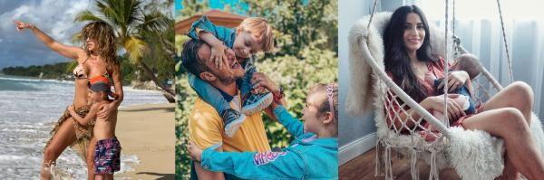 Anna Lesko, Dan Cruceru, Lili Sandu, colaj foto Instagram