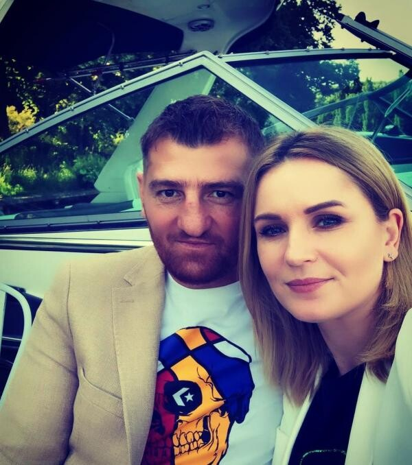 Catalin Morosanu și Georgiana, sursa foto Instagram