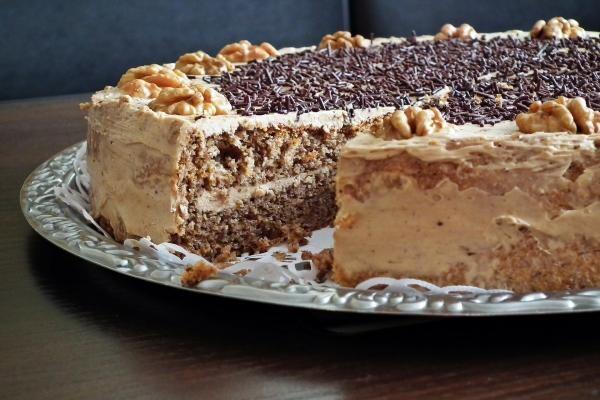 Prăjitură cu nucă, sursa pixabay/ autor MrGajowy3