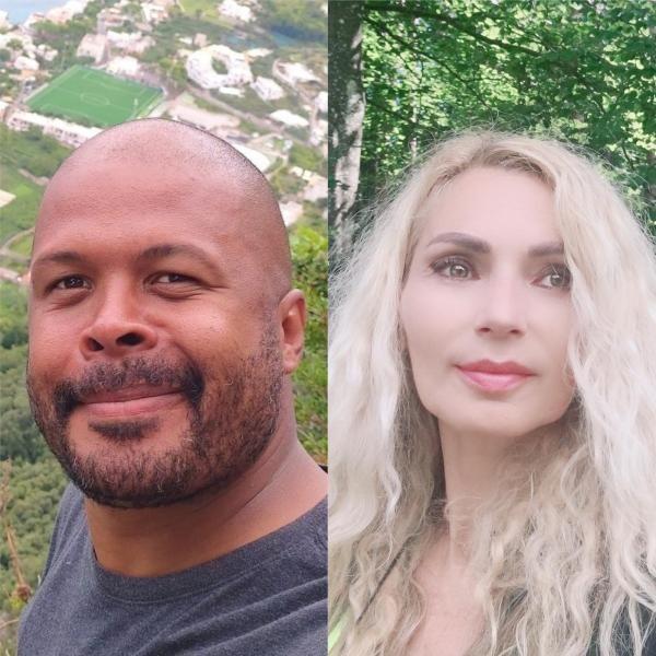 Cabral și Luana, colaj foto/ sursa Facebook