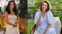 Oana Zăvoranu, Adela Popescu, colaj foto Instagram