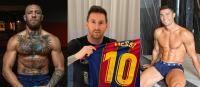 Conor McGregor, Lionel Messi, Cristiano Ronaldo, Colaj foto Instagram
