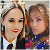 Andreea Marin și Jennifer Lopez, sursa instagram/ colaj foto
