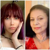 Elena Cârstea și Roxen, sursa instagram/ colaj foto