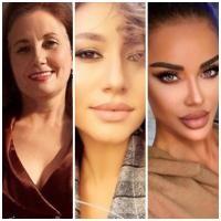 Claudia Pătrășcanu, Diana Pătrășcanu și Bianca Drăgușanu, sursa instagram/ colaj foto