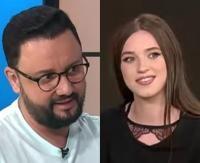 Cătălin Măruță și Ioana Ignat/ captura foto Youtube/ sursa La Măruță