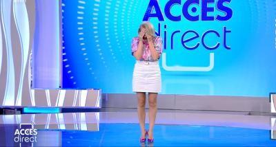 Mirela Vaida, captură TV, Acces Direct