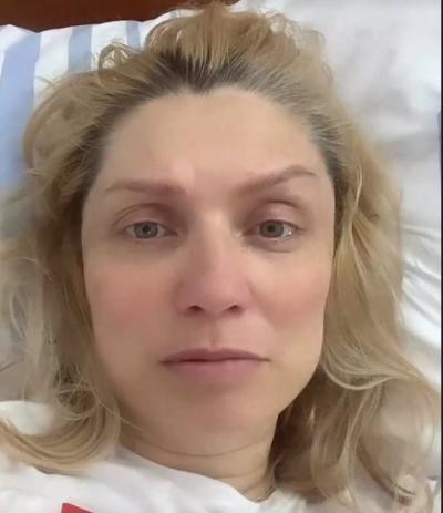 Cristina Cioran a născut prematur. Foto Instagram