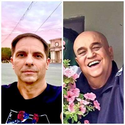 Dan Negru și Benone Sinulescu, sursa facebook/ colaj foto