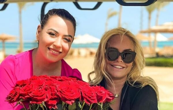 Vica Blochina și Oana Roman, sursa foto Instagram