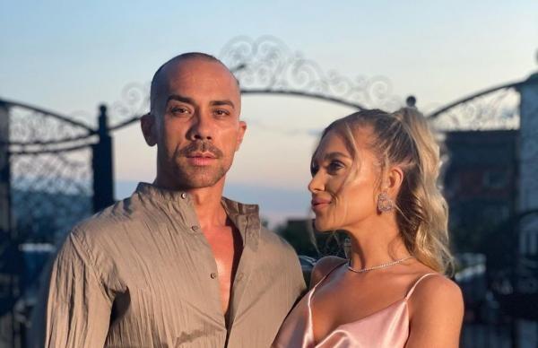 Oana Radu și soțul ei, sursa foto Instagram