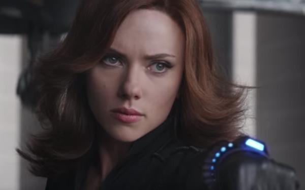 Scarlett Johansson în Black Widow. Captura foto YouTube/ The Tonight Show Starring Jimmy Fallon
