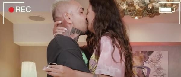 Alex Velea și Antonia, captura foto Youtube