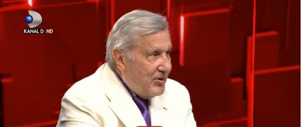 Ilie Năstase, captură TV/ kanal D