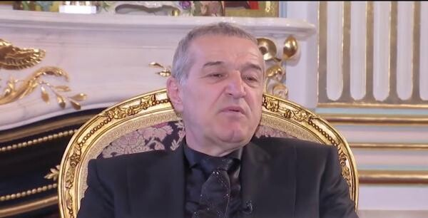 Gigi Becali, Captură foto Antena Stars