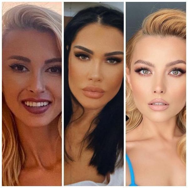 Oana Zăvoranu, Elena Gheorghe, Andreea Bălan, sursa instagram/ colaj foto