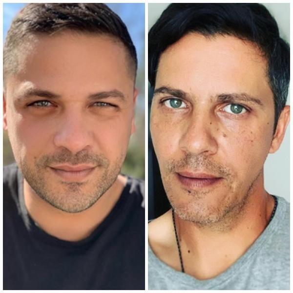 Lucian și Augustin Viziru, sursa instagram/ captură foto