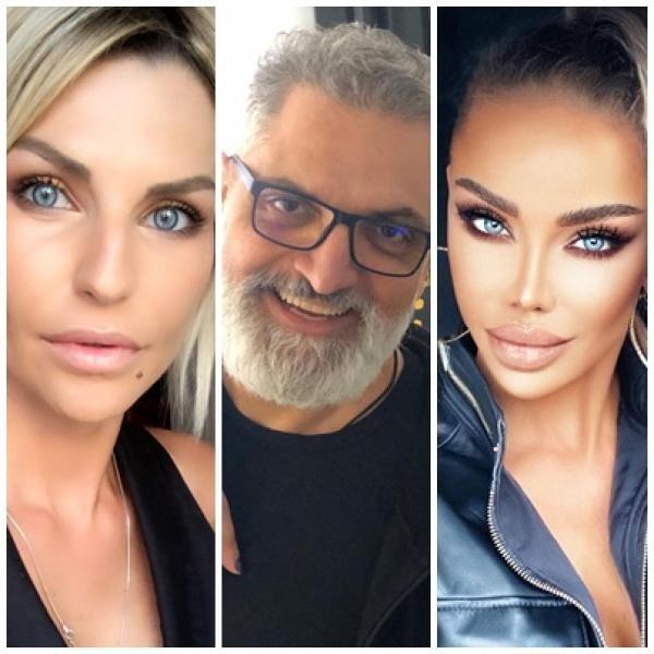 Oana Mareș, Damian Drăghici, Bianca Drăgușanu, sursa instagram/ colaj foto