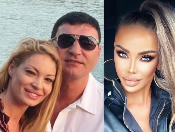 Bianca Drăgușanu și Cristi Borcea, colaj/ foto Instagram